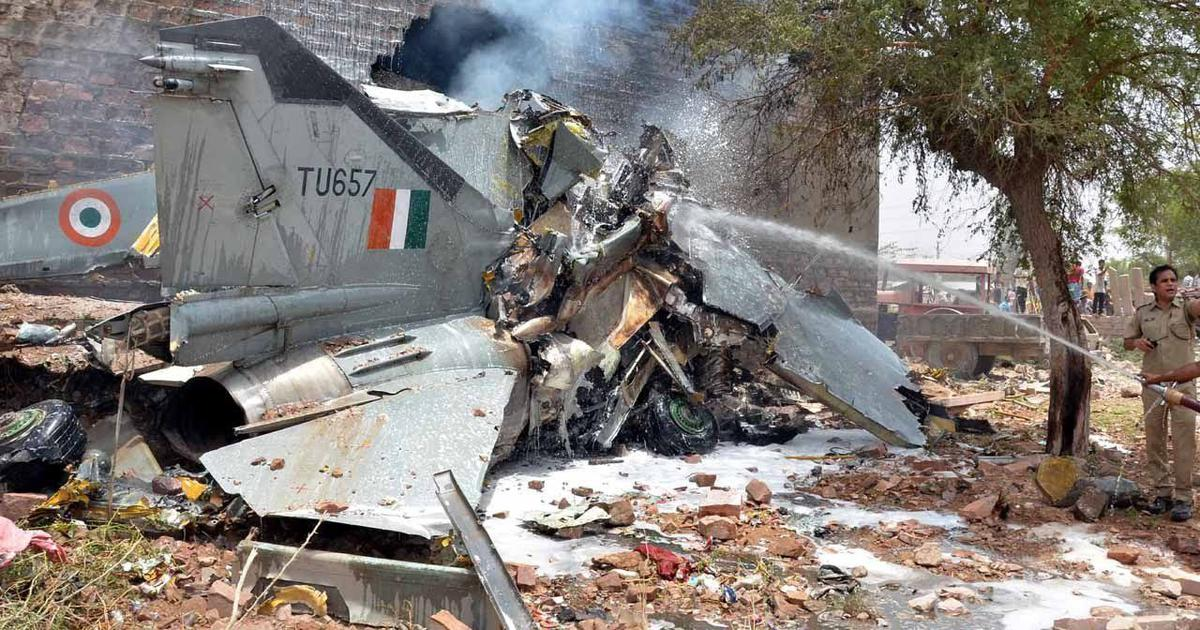 Fact check: Pakistani media uses 2016 image from Jodhpur to show Indian Air Force jet was shot down