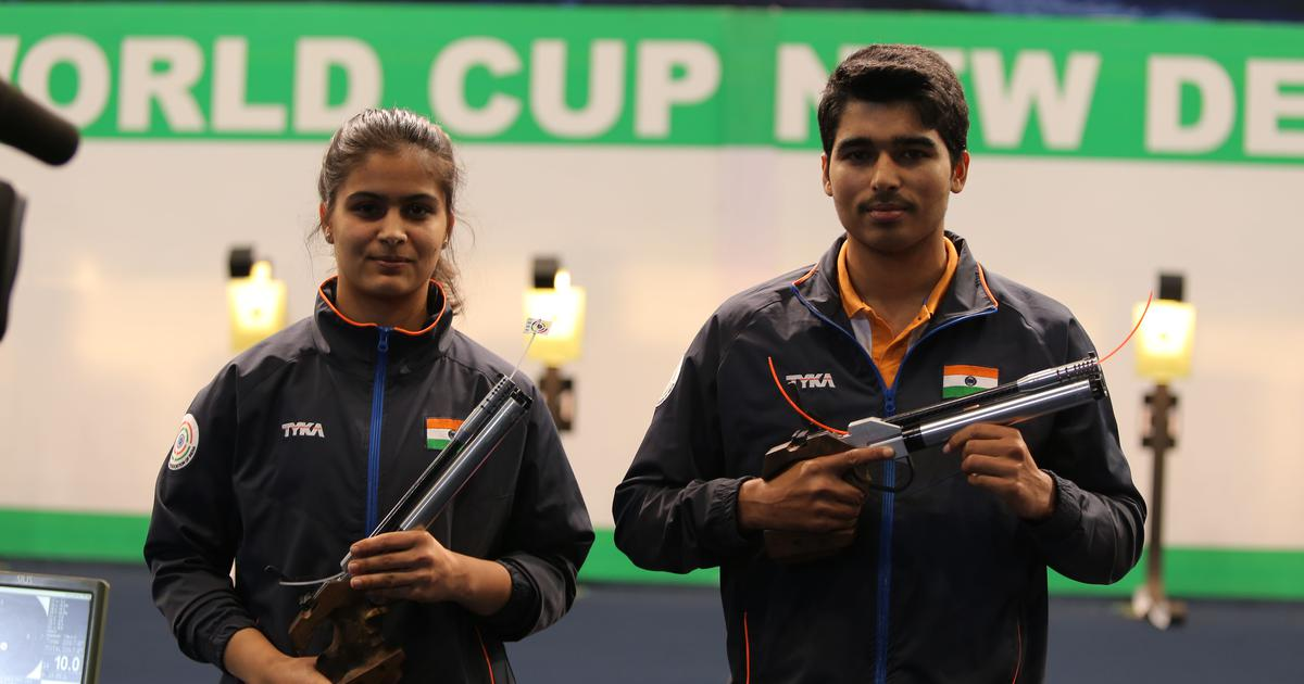 Chalk and cheese: How Saurabh Chaudhary and Manu Bhaker clinched team gold at ISSF World Cup