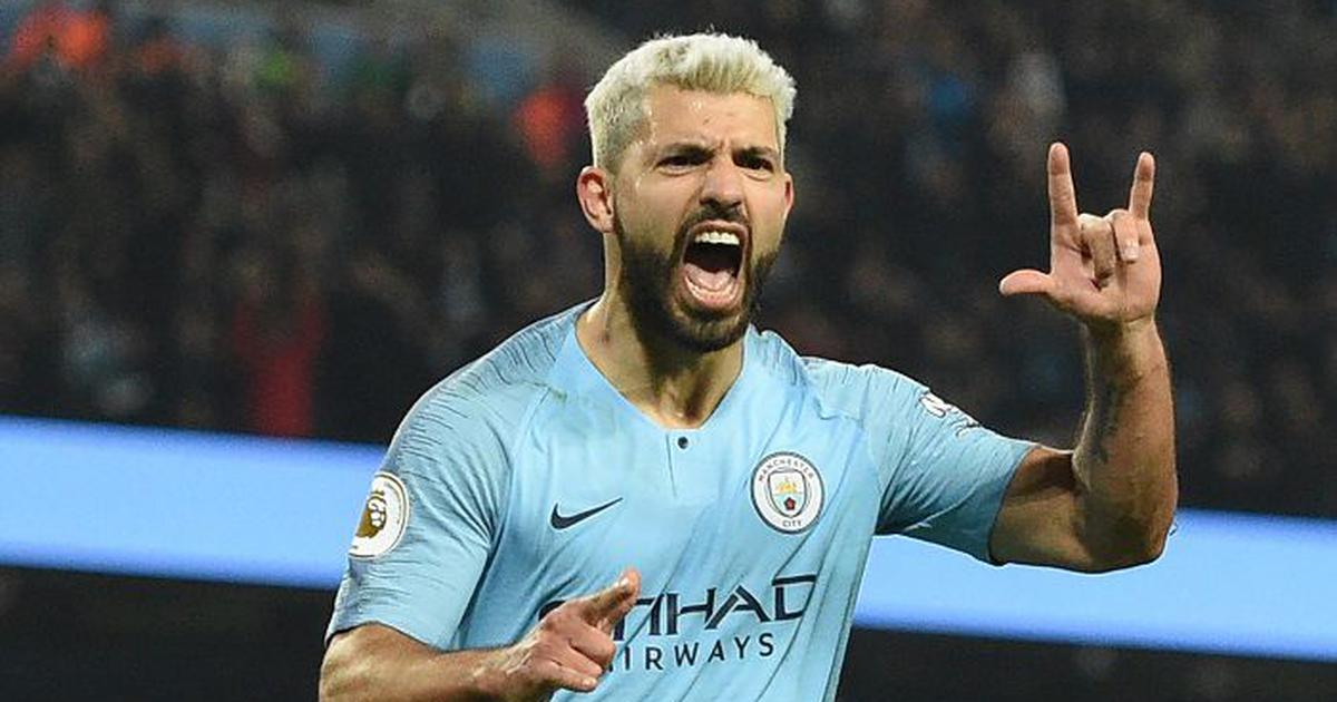 Sergio Aguero nets 25th goal of the season to help Manchester City pip West Ham 1-0