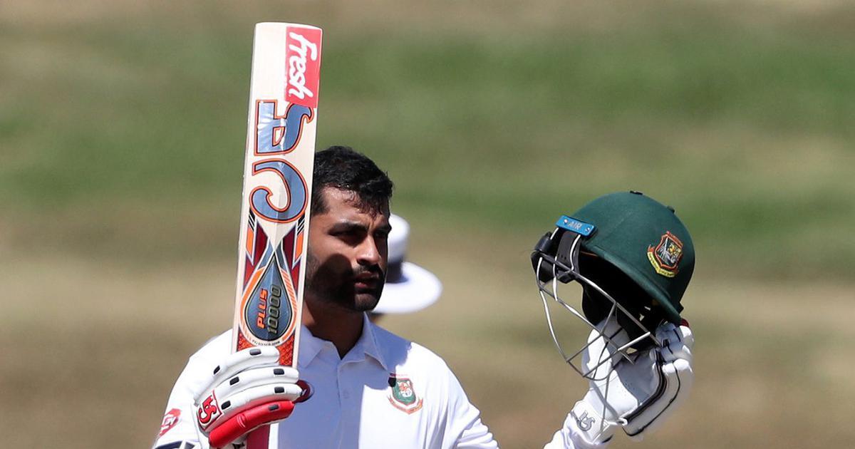 Hamilton Test: New Zealand restrict Bangladesh to 234 despite Tamim Iqbal's attacking 126