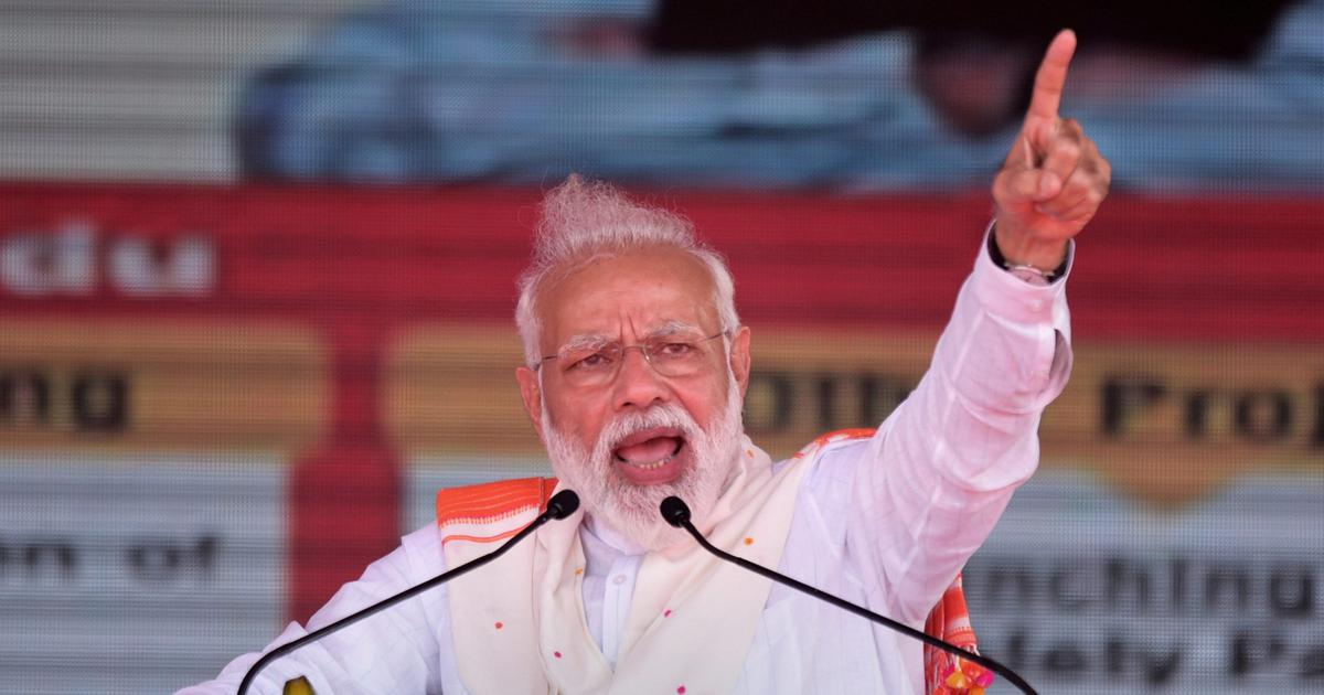 There is no contest in the upcoming Lok Sabha election, Narendra Modi tells Republic TV
