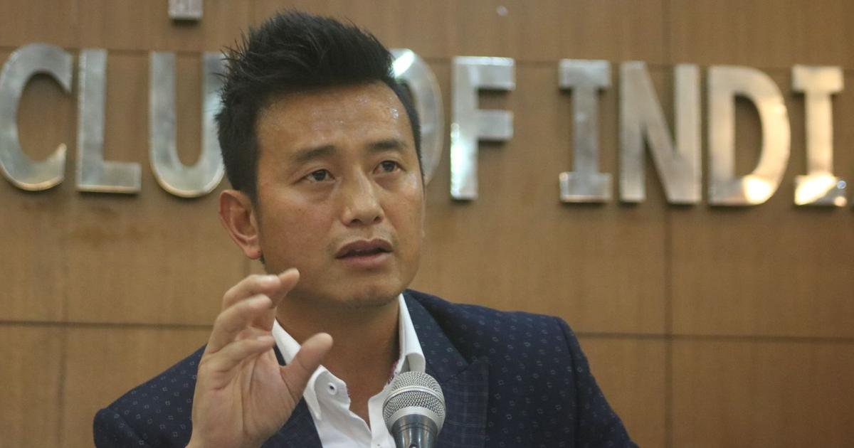 Citizenship Bill: Bhaichung Bhutia seeks exemption for Sikkim, asks state's ruling party to quit NDA