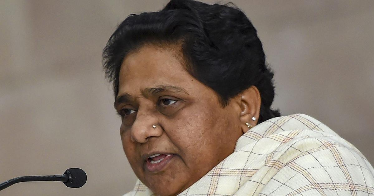 भाजपा के शासन में ही देश की सुरक्षा को सबसे ज्यादा खतरा क्यों होता है : मायावती