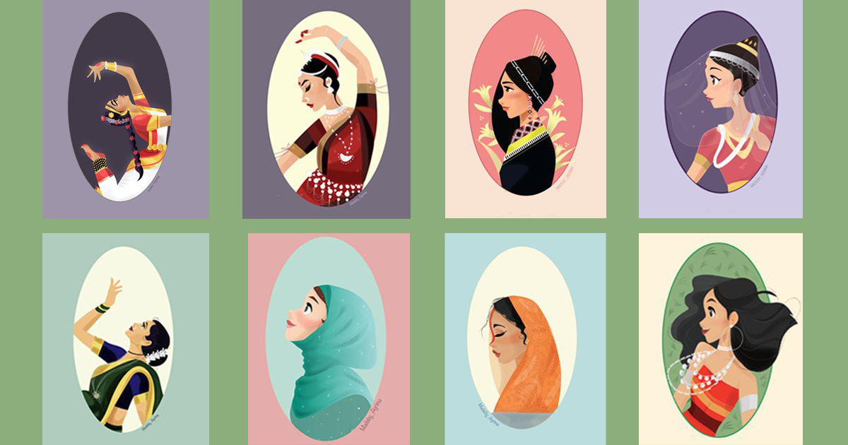 In highlighting India's cultural diversity, an artist hopes to find her own identity