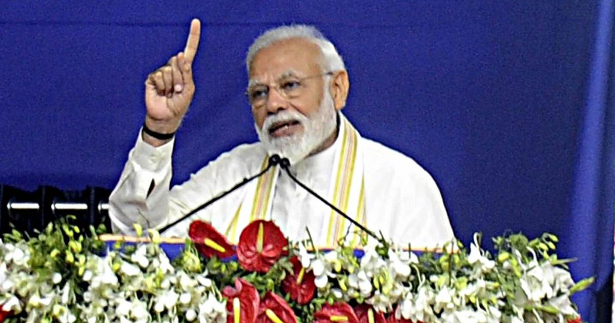 Congress appeals to Election Commission to bar Narendra Modi from campaigning for 48 to 72 hours
