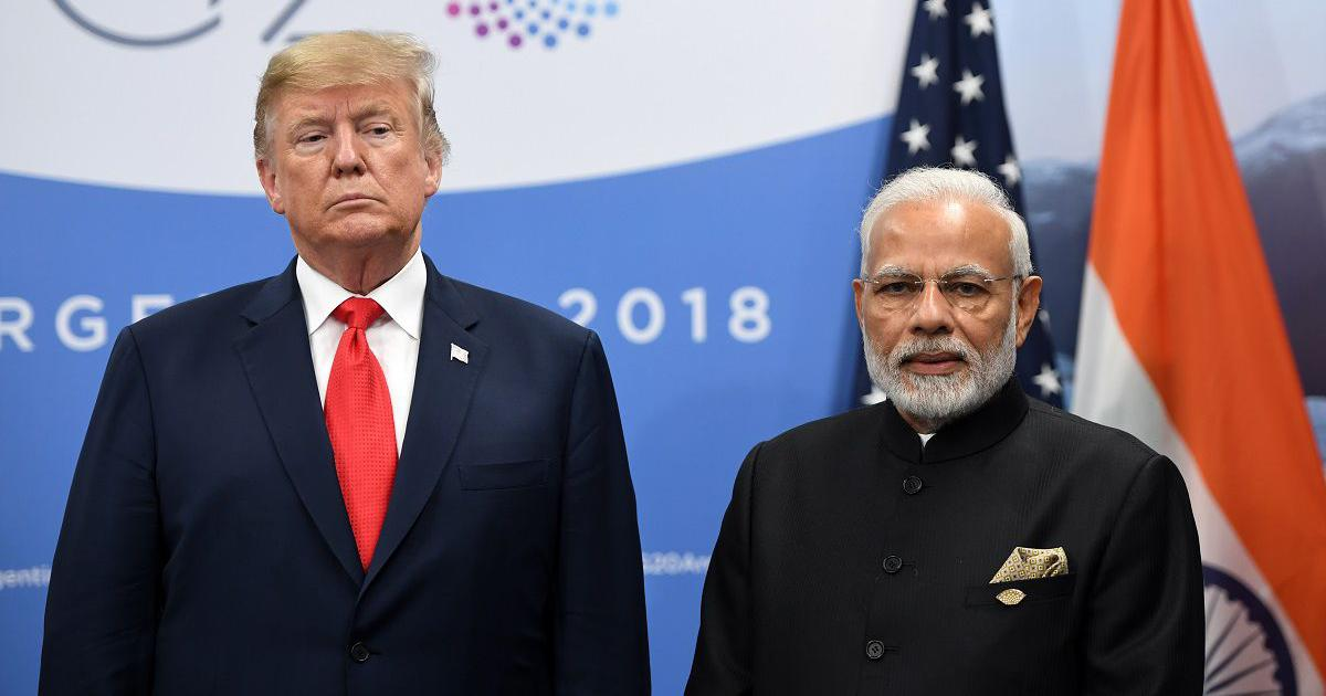 US President Donald Trump terminates preferential trade status for India