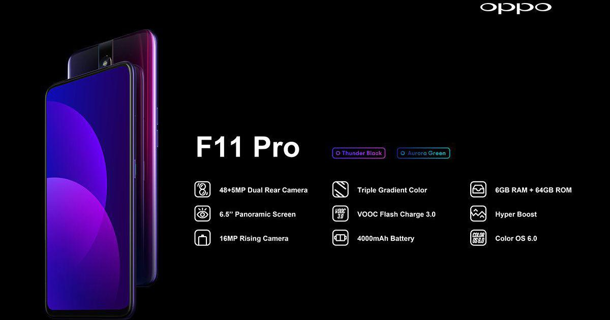 Oppo launches F11, F11 Pro in India