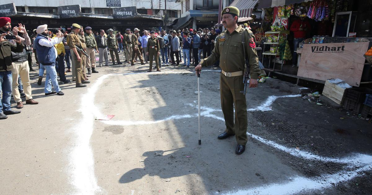 Jammu: One dead, at least 30 injured in grenade attack on bus station, police arrest man
