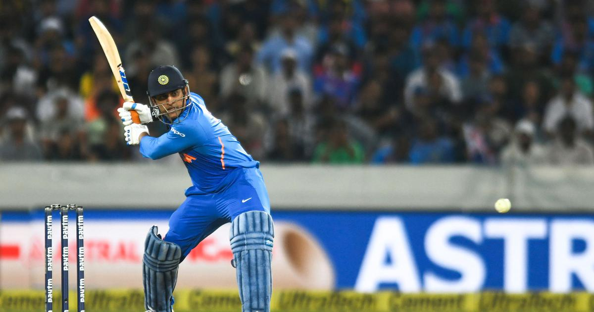 It is the end of an era: BCCI president Sourav Ganguly doffs his hat to MS Dhoni