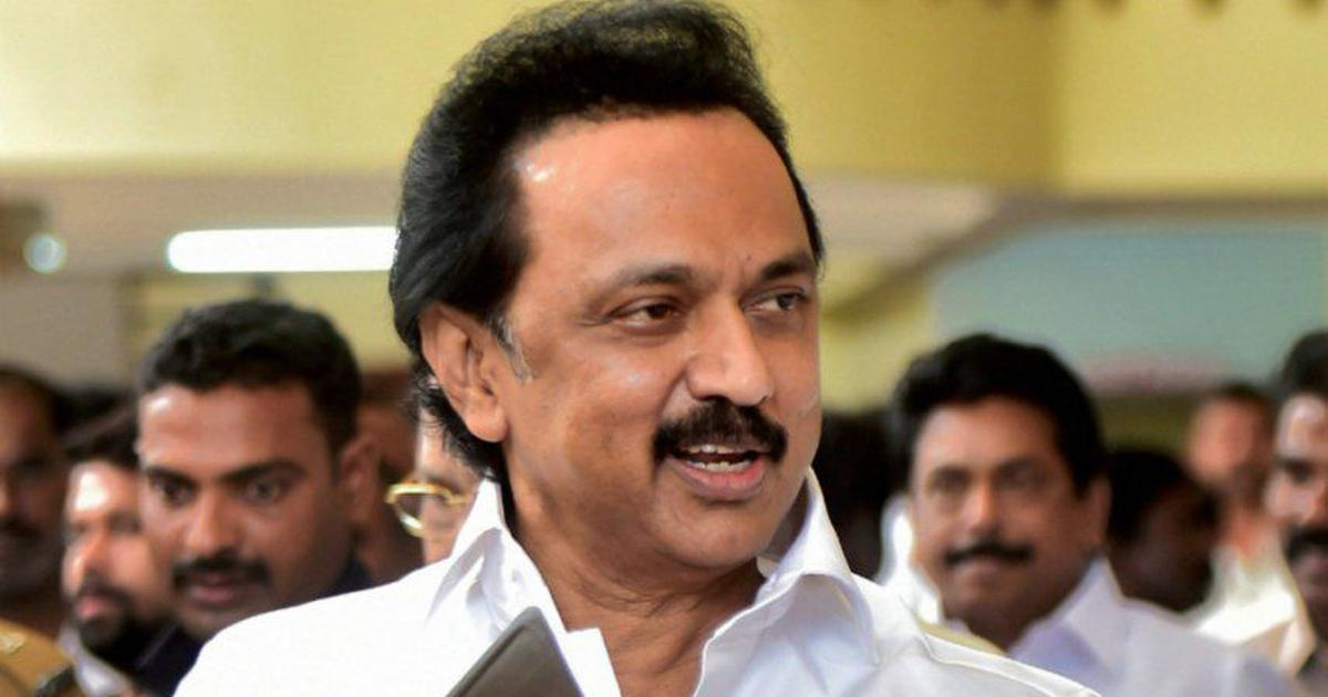 Draft education policy: 'Hindi not in the blood of people of Tamil Nadu,' DMK's Stalin tells Centre