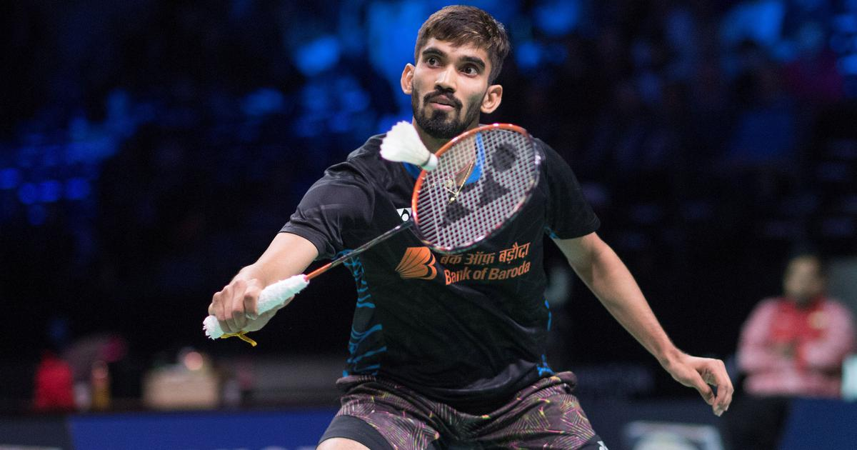 Badminton: Kidambi Srikanth slips to 8th, Harsheel Dani jumps 22 spots in BWF rankings