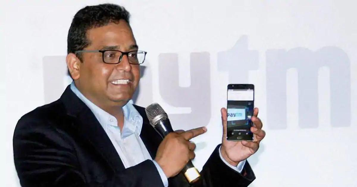 Paytm is racking up heavy losses – but its founder Vijay Shekhar Sharma is getting richer by the day