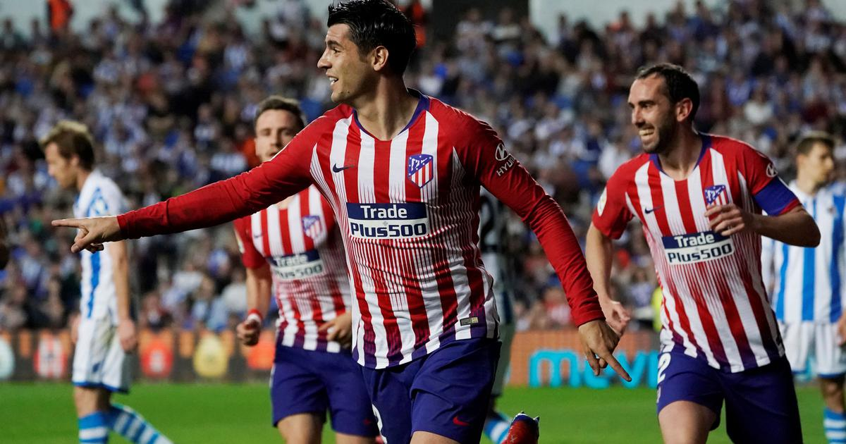 After Frustrations Around Europe Alvaro Morata May Have Finally Found His Feet At Atletico Madrid