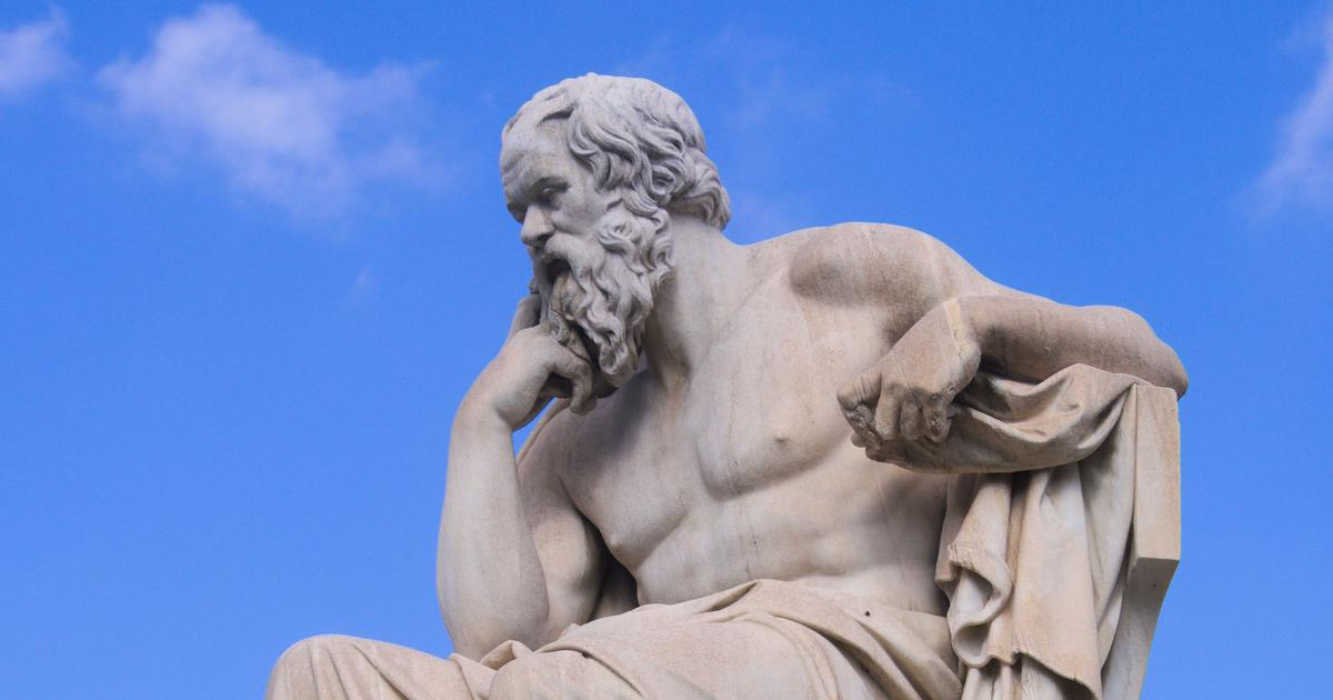 Were the foundations of Western philosophy laid by a woman who Socrates was in love with?