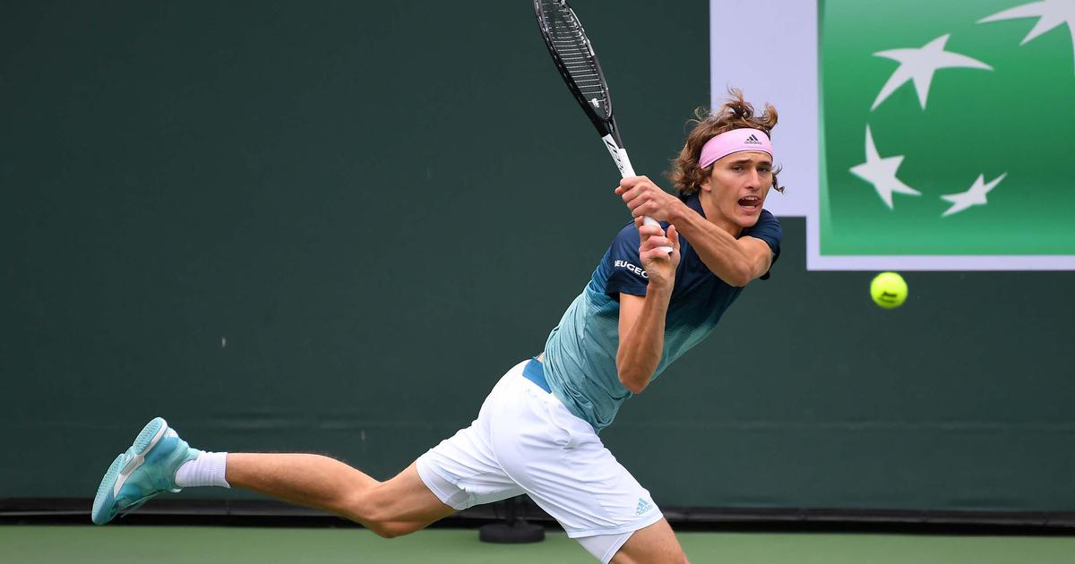 Struff beats Alexander Zverev at Indian Wells