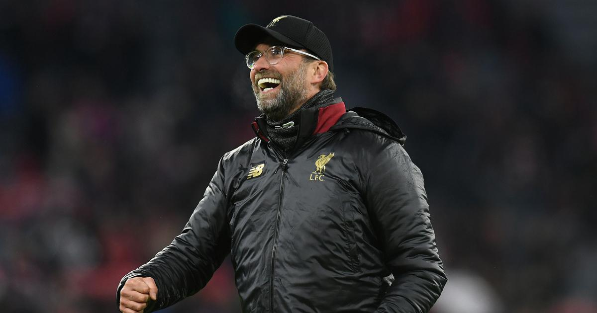 Tonight it is for you out there: Klopp thanks Liverpool fans as 30-year wait ends for English title
