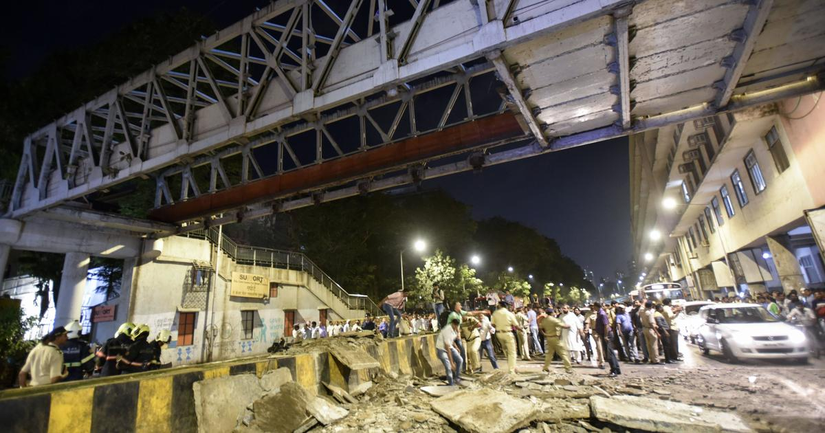 CST tragedy: Anger in Mumbai as city witnesses sixth railway bridge accident in two years
