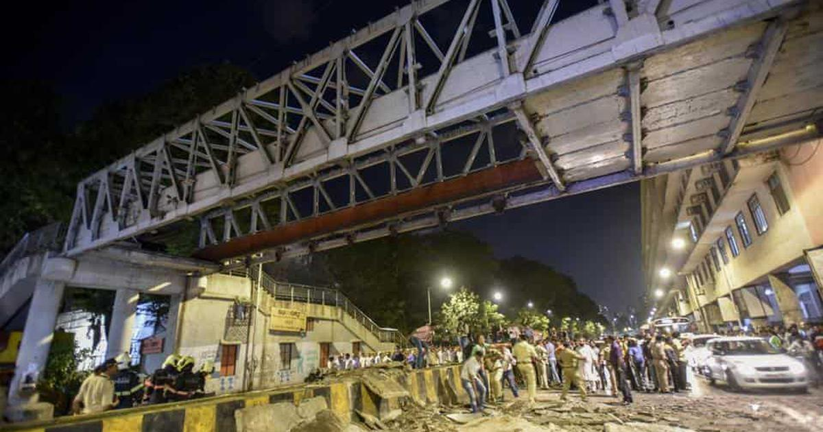 'Auditor's fault': BJP and Shiv Sena pass the buck on Mumbai bridge collapse
