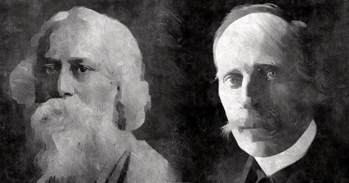 When Tagore was taken in by Mussolini and fascism, and Romain Rolland showed him the truth