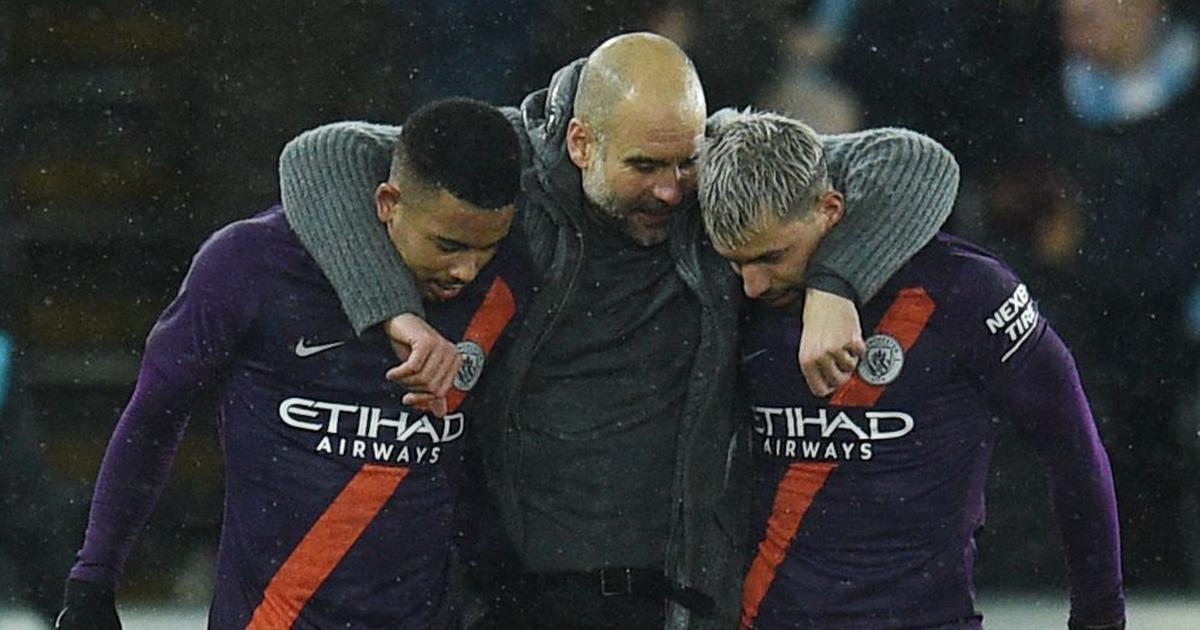 FA Cup: Manchester City ride on Aguero brace to register comeback win over Swansea, United lose