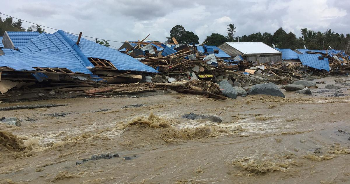 At least 42 dead in Indonesia flash floods