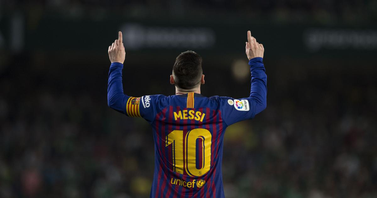 Lionel Messi's Barcelona era is unequalled, says Ernesto Valverde