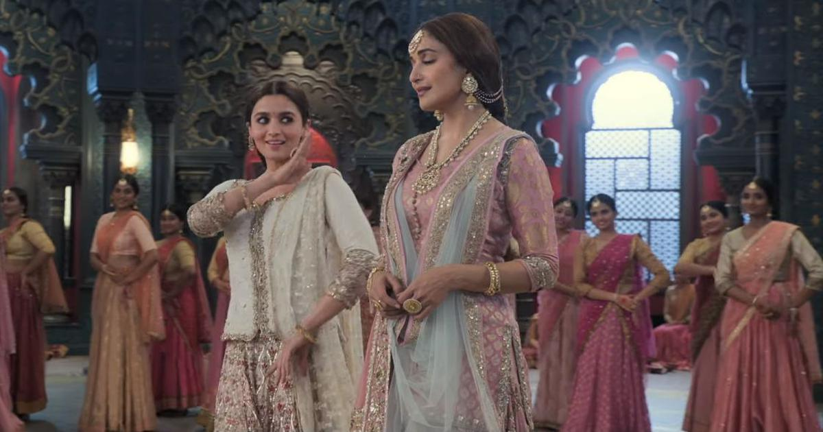 Madhuri Dixit And Alia Bhatt To Do A Jugalbandi In Kalank