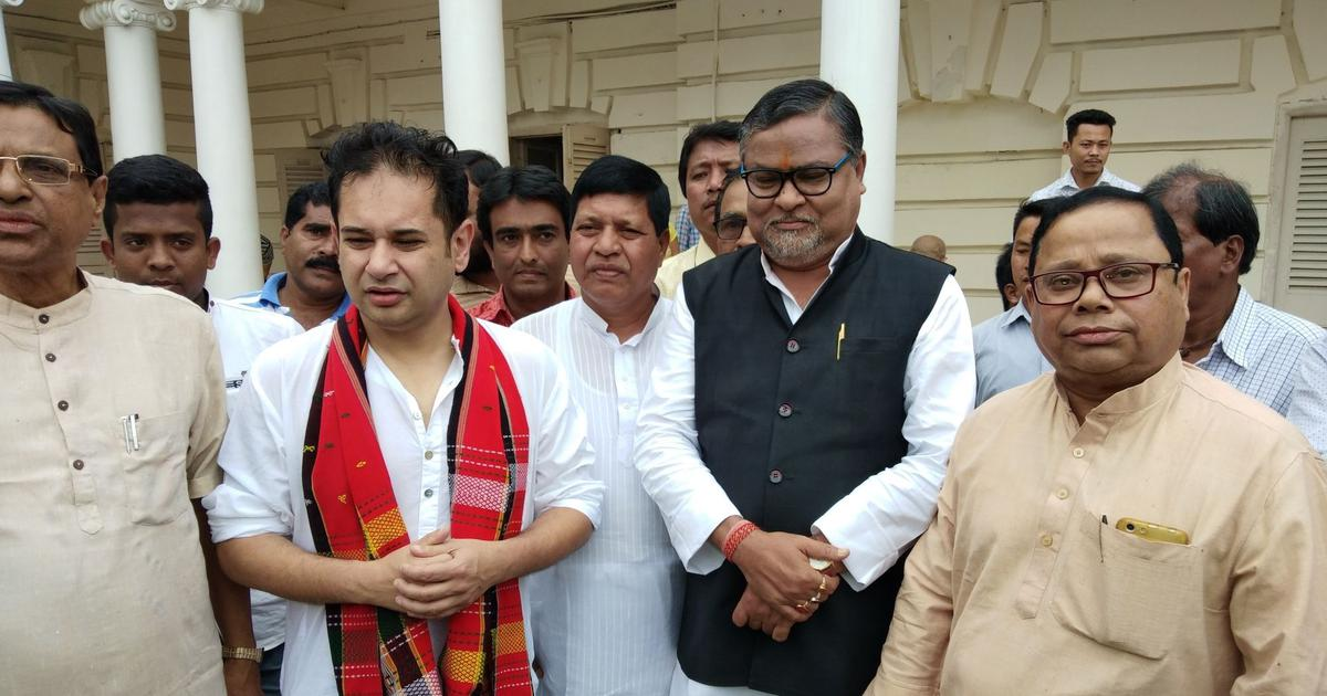 Lok Sabha elections: Tripura BJP vice president Subal Bhowmik returns to Congress