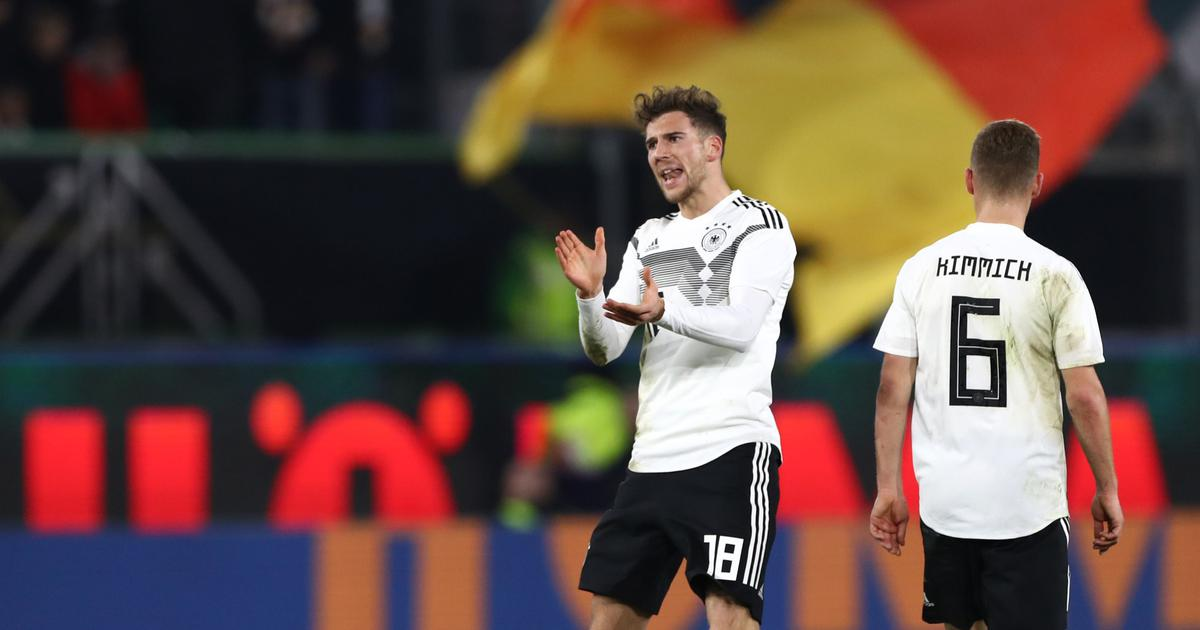 Football: Goretzka strike saves new-look Germany the blushes in 1-1 draw against Serbia