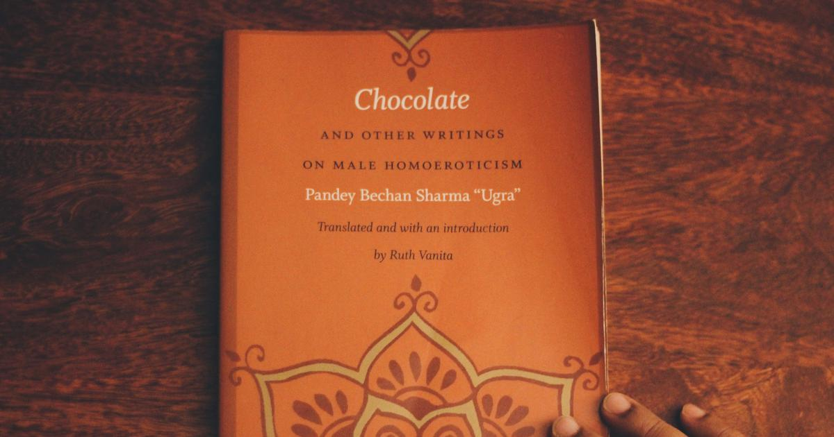 Chocolate By Pandey Bechan Sharma Ugra Created A Furore Over
