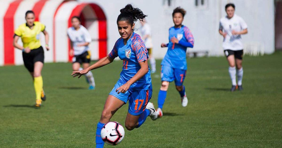 Watch: India's Dalima Chhibber scores stunning free-kick in SAFF Women's Championship final