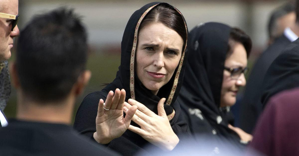 Image result for Ardern hijab