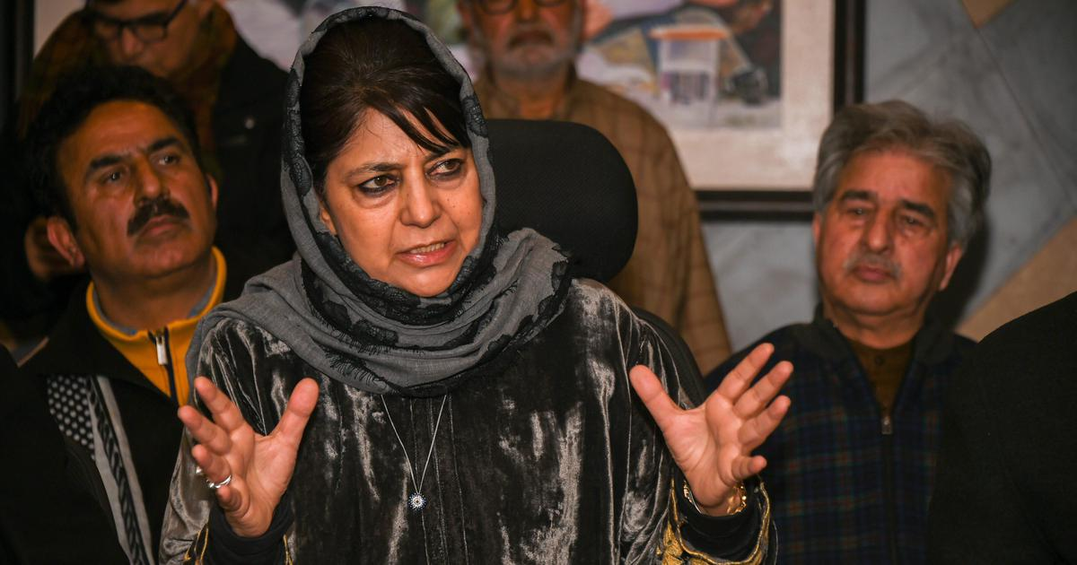 'Pakistan's nuclear bombs are not kept for Eid either': Mehbooba Mufti hits back at PM Modi