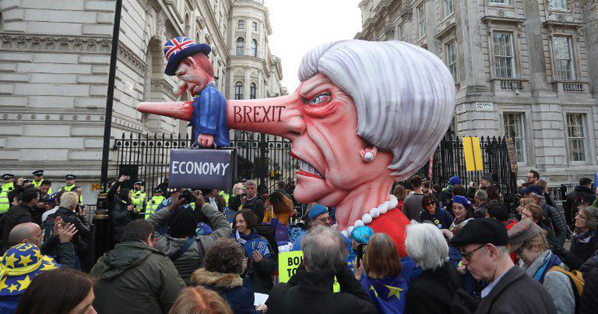 In photos: One million join anti-Brexit march in London, demand new referendum