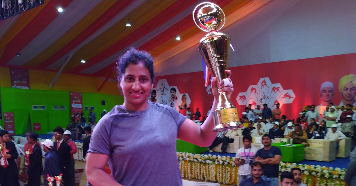 For her daughter's sake, 35-year-old Gursharan Preet Kaur is back on wrestling mat and winning too