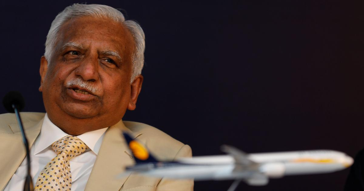 Jet Airways founder Naresh Goyal his wife Anita Goyal step down from board of directors
