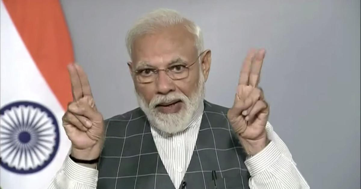 With model poll code in place, was Modi right to announce the missile test in a national TV address?