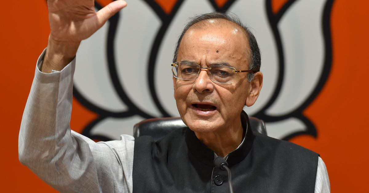 Arun Jaitley says India may become 3rd largest economy by 2030, poverty will fall below 10% by 2025