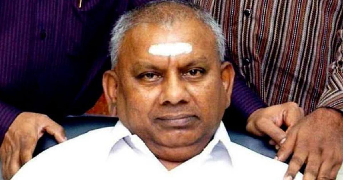 Saravana Bhavan founder P Rajagopal dies at 72
