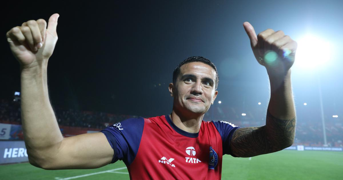 Australia's Tim Cahill hangs up boots after end of ISL contract with Jamshedpur FC