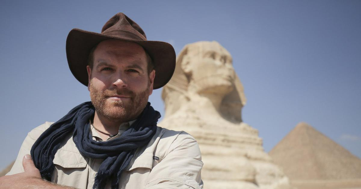 Why explorer Josh Gates is opening an Egyptian coffin on live TV