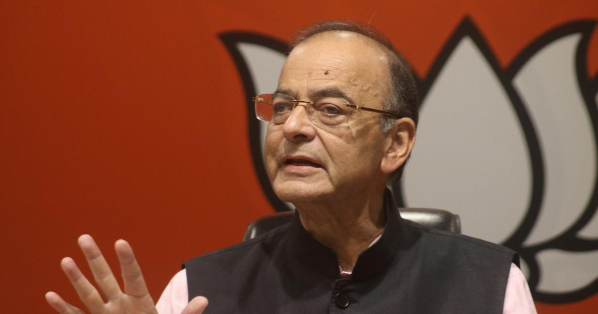 Arun Jaitley says national security, terrorism the most important problems for India