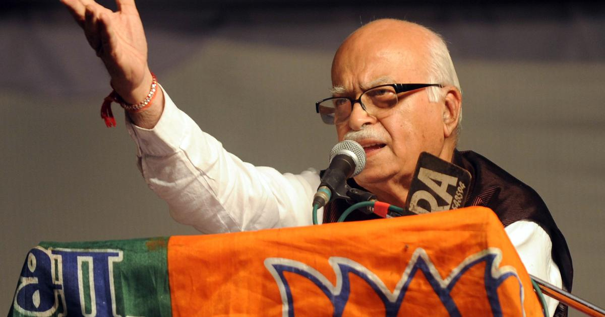 The big news: Advani says BJP has never regarded opponents as anti-national, and 9 other top stories
