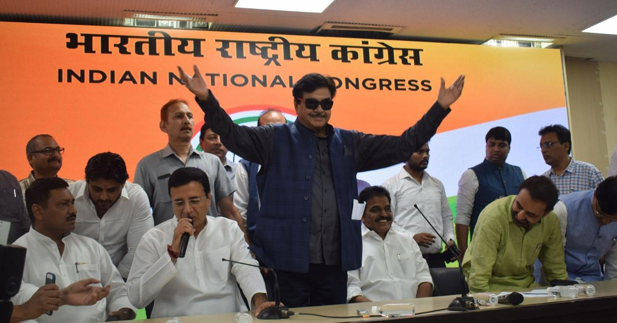 Lok Sabha elections: Shatrughan Sinha says his decision to quit BJP left LK Advani in tears