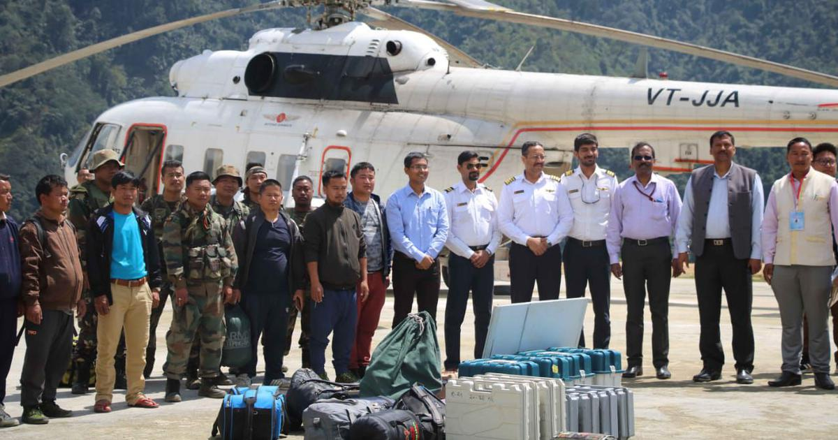 The Silent Army: In Arunachal, election staff are chosen on their ability to walk – for days