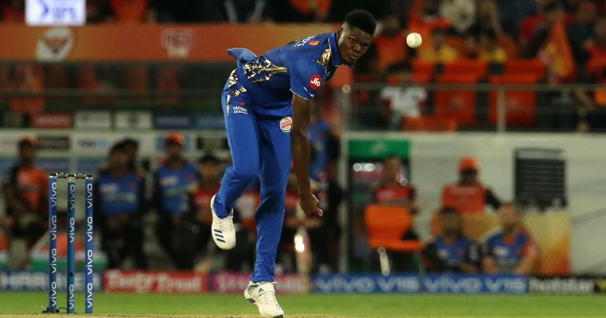 Image result for alzarri joseph mumbai indians