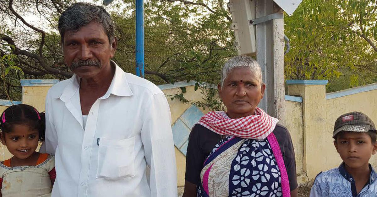 How an unyielding drought has forced once thriving Andhra farmers to leave in search of wage labour