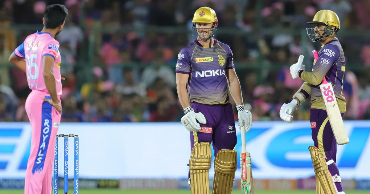 IPL 2019: Narine, Lynn guide dominant Kolkata to eight-wicket win over Rajasthan