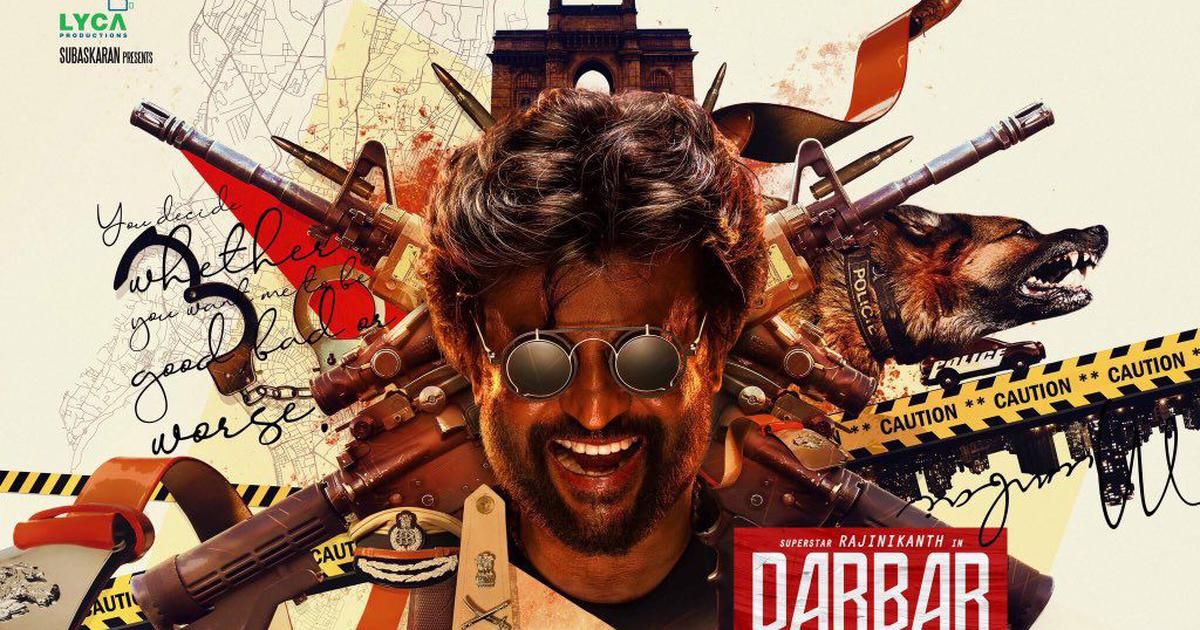 First look: Rajinikanth in AR Murgadoss's 'Darbar'