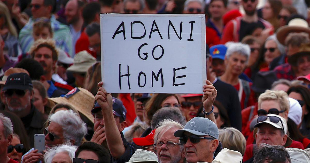 Adani coal mine in hands of Qld govt